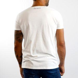 Camiseta Calavera Blanca Negra (Chico)