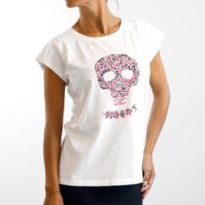 Camiseta Calavera Blanca (chica)