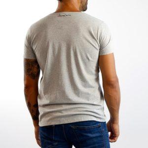 Camiseta Calavera Gris (Chico)
