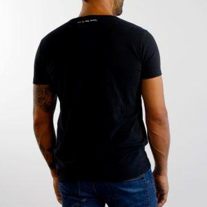 Camiseta Calavera Negra Blanca (chico)
