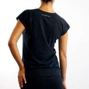 Camiseta Calavera Negra (chica)