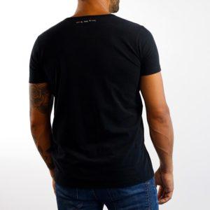 Camiseta Calavera Negra Roja (chico)