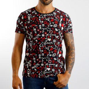 amorporfavor-camiseta-paz-y-amor-negra-unisex-01
