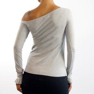 Camiseta Volantes Gris (Chica)