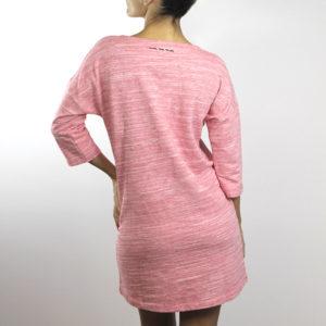 Vestido Lazos Rosa
